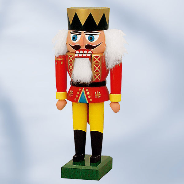 "Nutcracker ""Red King"" 19 cm"