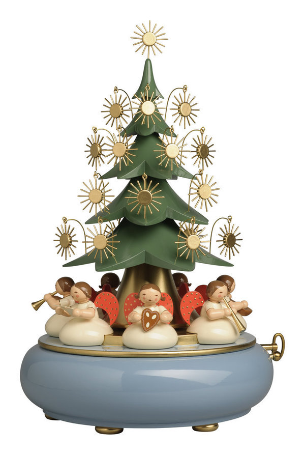 "Music Box ""Angels Sitting Under The Tree"""