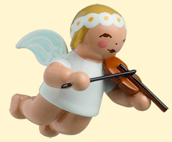 Little Suspended Angel With Violin